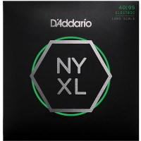 NYXL4095 NYXL струны для бас-гитары, Long Scale, Super Light, 40-95, D'Addario
