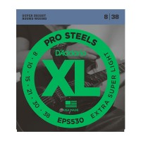 EPS530 XL PRO STEEL Струны для электрогитары Extra-Super Light 8-38 D`Addario